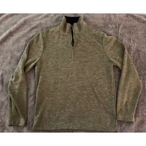 Men's Olive Green Banana Republic Sweater Medium
